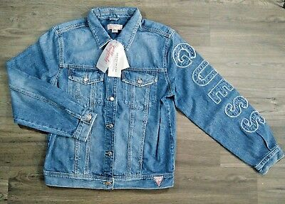 Vintage 90's Guess Jeans Chaqueta Chaqueta Denim Georges Marciano Tamaño S