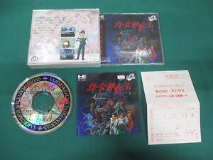 Details about PC Engine SUPER CD-ROM -- SHIN MEGAMI TENSEI DEGITAL DEVIL --  JAPAN  Work  13672