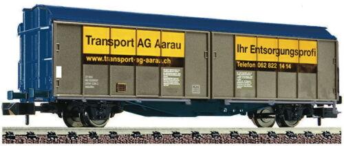 Ep VI NEU OVP FLEISCHMANN N 837305 Schiebewandwagen Transport Aarau SBB