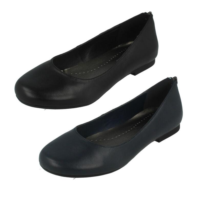 Donna F9r0082 Slip On Smart / Ufficio/scuola Scarpe Da Leather Collection