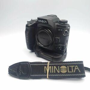 [near Mint] Minolta α-7 a7 Maxxum Dynax Alpha 7 35mm SLR mit vc-7 Grip Japan