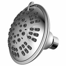 Adjustable Luxury Bathroom High Pressure Wall Mount Shower Head, Chrome