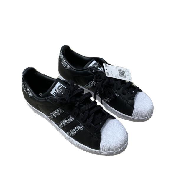 New Adidas Superstar 'Graffiti' Men's Shoes Sneakers Size 9.5 Black White BD7430