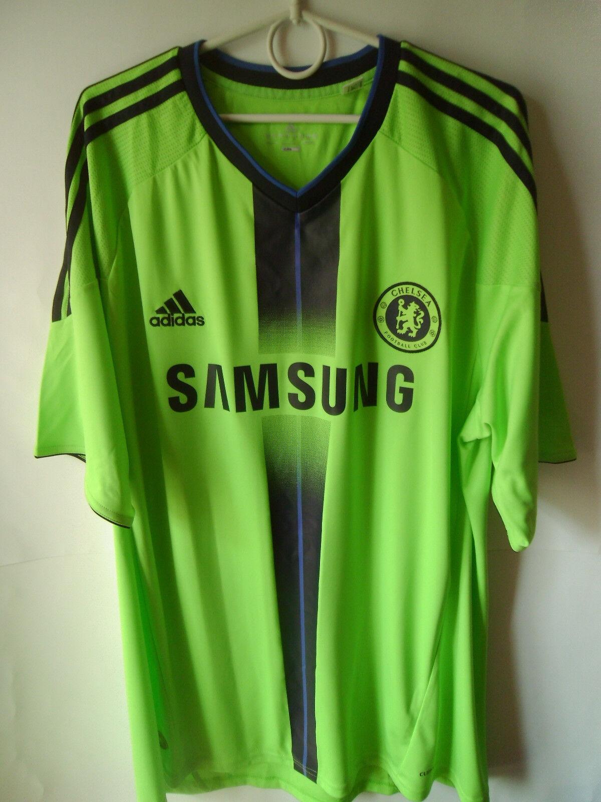 EXCELLENT    2010-11 Chelsea Third Shirt Jersey Trikot XL