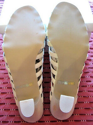 Señoras Sandalias 3 EUR 36 Satén Zapatos de noche Dama de honor novia Dance Wear