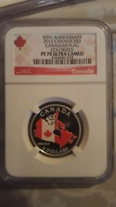 2015-CANADA-3-SILVER-PROOF-NGC-PF70-UCAM-50TH-ANNIVERSARY-CANADIAN-FLAG-RARE