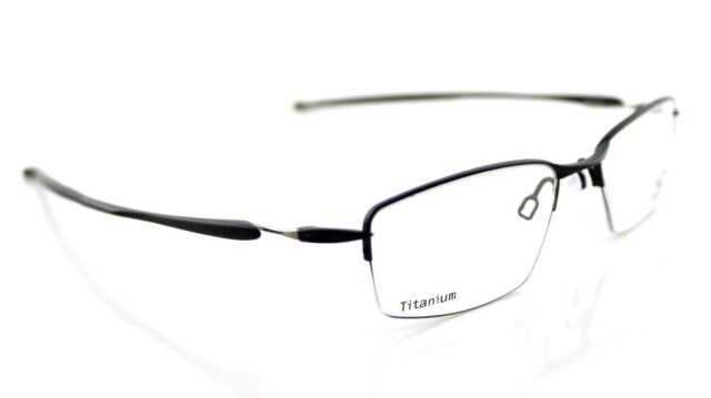 150e274b8b NEW Authentic OAKLEY LIZARD Titanium Satin Black Eyeglasses Frame OX 5113  01 51