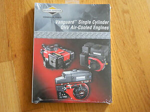 new oem briggs stratton vanguard single cylinder repair service rh ebay com Briggs and Stratton Engine Troubleshooting Briggs and Stratton 3Hp Manual