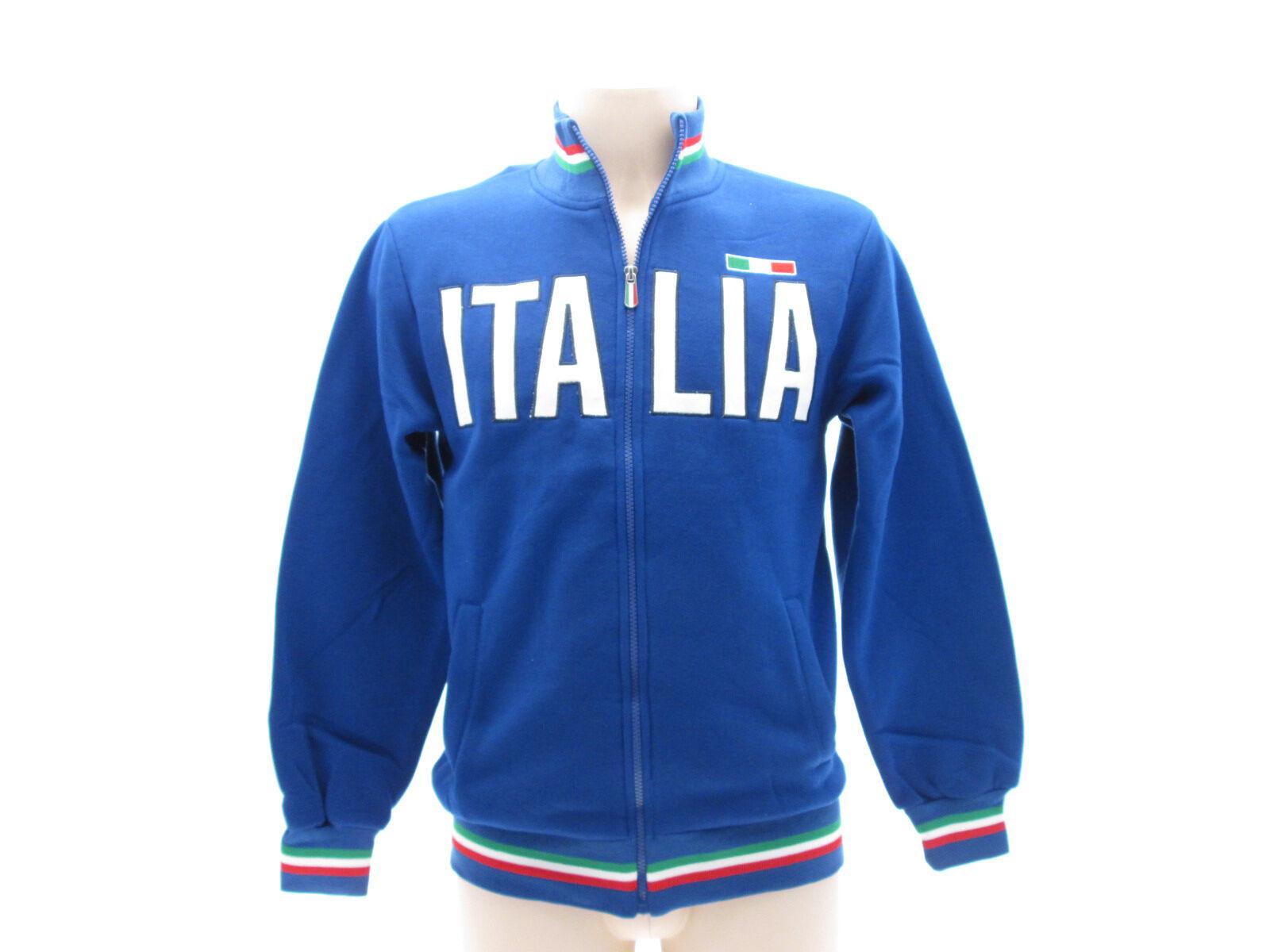 Sweatshirt Italie triFarbe 65% Baumwolle 35% 35% 35% Polyester Reißverschluss Schweiß | Guter weltweiter Ruf  |  Neuer Markt  | Verrückte Preis  d5bc3c