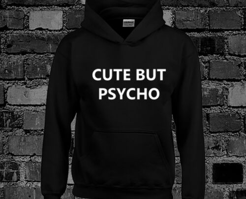 Men S Clothing Cute But Psycho Hoody Hoodie Top Hate Love Hipster Tumblr Fashion 901church