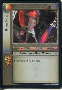 Lord-Of-The-Rings-Foil-CCG-Card-RotK-7-C319-Hobbit-Sword
