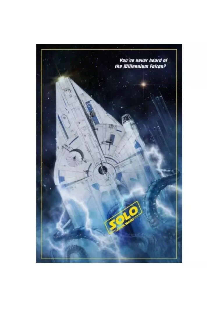 "SDCC 2018 ThinkGeek Limited Edition ""Solo"" Print by Russell Walks"