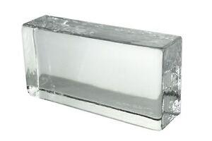 Crystal-Collection-Glasziegel-Glasbaustein-klar-20x10x5cm