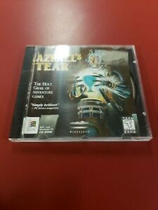 Azrael's Tear (PC, 1996) Disc and insert. Free ship  jewel case