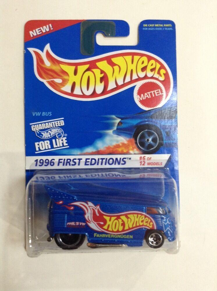 negozio di vendita outlet ORIGINAL 1996 caliente ruedaS FIRST edizione  PHIL'S PHIL'S PHIL'S VW 1 64 SCALE DIECAST MIP  100% di contro garanzia genuina