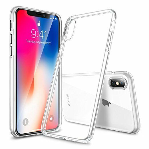 competitive price 268d7 834e5 iPhone -X 10 CASE ESR Crystal Transparent Clear Flexible Soft Gel TPU Cover