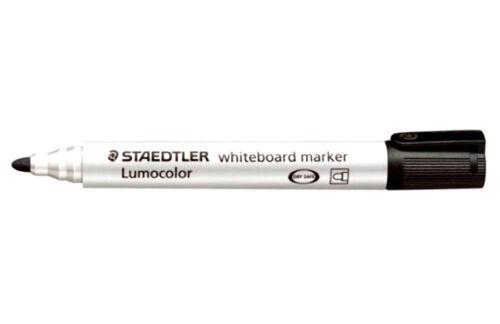 2 X Staedtler 2 mm Lumocolor Bullet Tip Whiteboard Marker 351