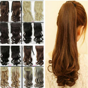 Clip-In-Pony-Tail-Hair-Extension-Wrap-Around-Ponytail-Hair-Extensions-For-Human