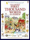 First Thousand Words in Hebrew von Heather Amery (2014, Taschenbuch)