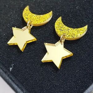 1-Pair-Women-Acrylic-Resin-Star-Moon-Earring-Boho-Dangle-Drop-Stud-Earring