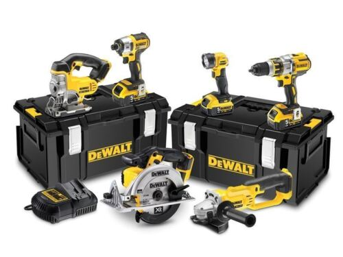 DeWalt DCK694P3 18v XR 6pc Combination 5.0Ah Kit