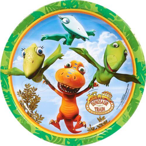 Dino Zug Dinosaurier Eßbar Tortenaufleger Party Deko Geburtstag Muffin Bild neu
