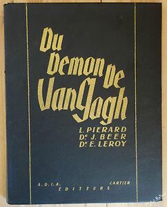 Du Démon de VAN GOGH Planches couleurs sur vélin BFK NUM  ADIA 1945