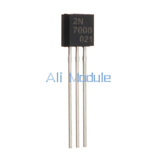 50PCS 2N7000 MOSFET N-CHANNEL 60 Volts 0.2 Amps TO-92 New