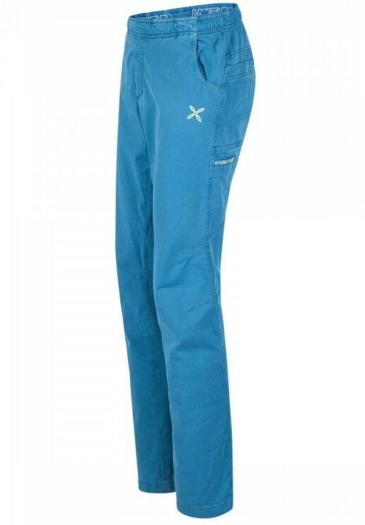 Montura NEVERMIND 2 pantalones hombre, Boulder PARA ESCALAR azul ottanio