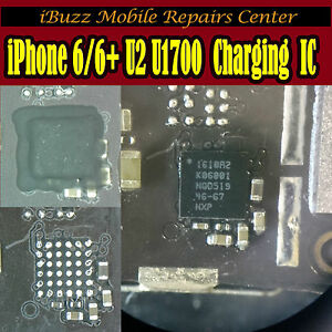Iphone 6 6 Plus Usb Not Charging U2 U1700 Ic Chip Repair