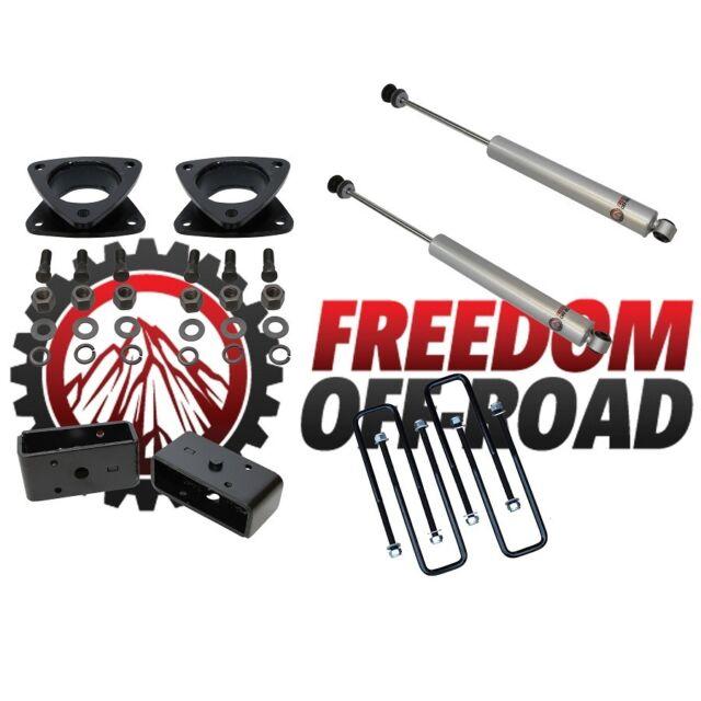 """Leveling Lift kit 05-14 Toyota Tacoma 3"""" + 3"""" Full Kit +  Rear Shocks"""