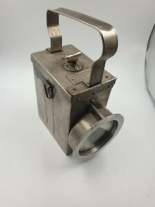 DEAC  , antike Taschenlampe ,  komplett restauriert ,