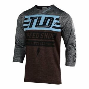 Troy-Lee-Designs-Ruckus-Jersey-Bolt-Heather-Dark-Moka-Heather-Gray-XXL