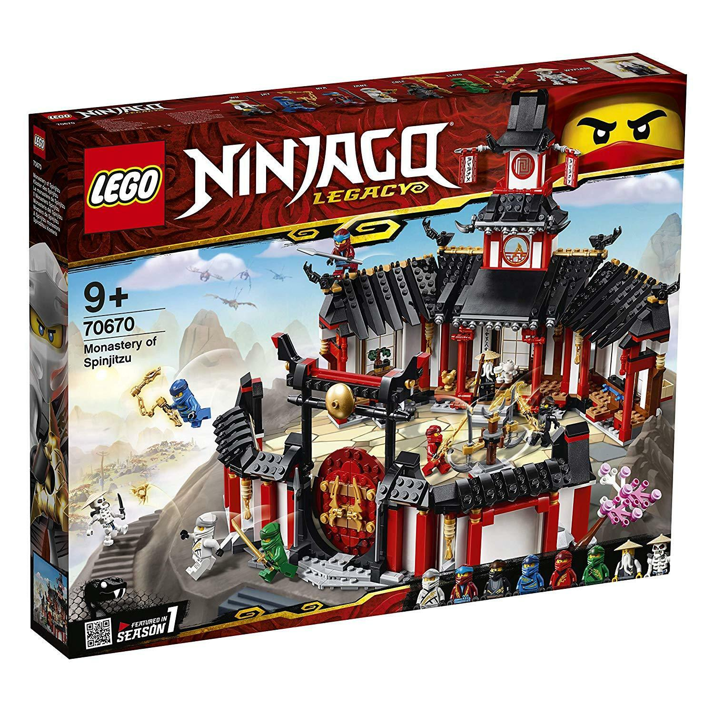 Lego Ninjago 70670 monasterio del Spinjitzu novedad 2019 OVP,