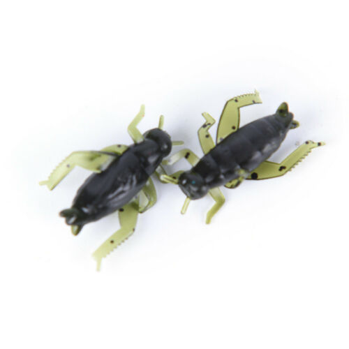 20Pcs Soft Fishing Lures Pesca Lightweight Cricket Insect Lure Simulation PLF