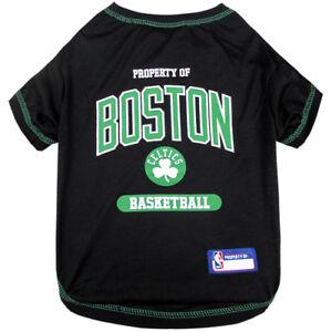 Boston-Celtics-NBA-Pets-First-Dog-Pet-Tee-Shirt-Black-Sizes-XS-L
