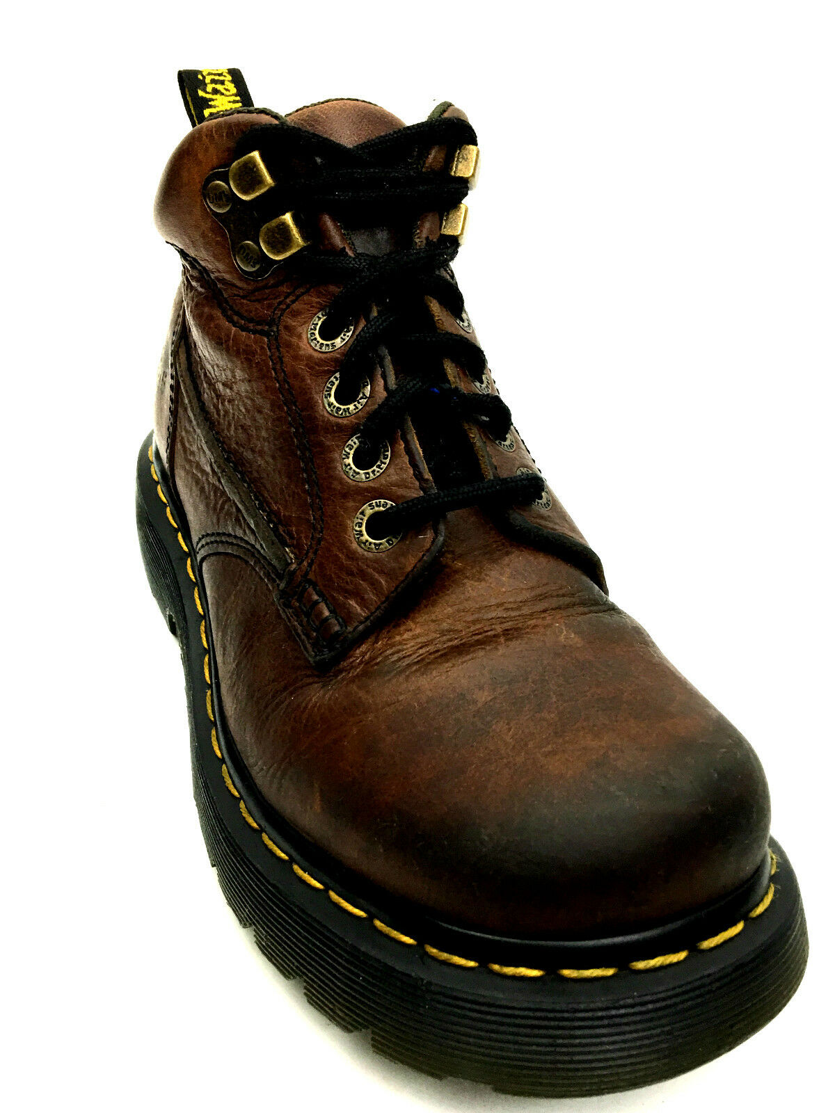 Dr. Martens Men's Made in UK Ankle Boot Brown USA.5 UK. USA 6 EUR.38