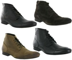 Hommes Bottines Uk Mode Cuir 6 La 12 age Armstrong Taille London Base YqpwHan
