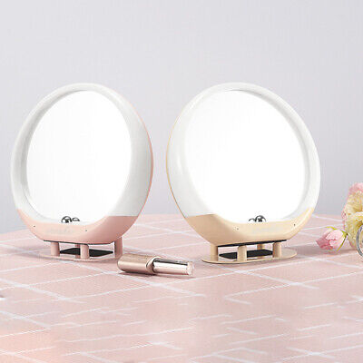 LED Makeup Vanity Mirror Tabletop LED lights Bluetooth 5.0 ...
