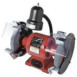 Sunex Tools 8 Bench Grinder With Light 5002a Ebay