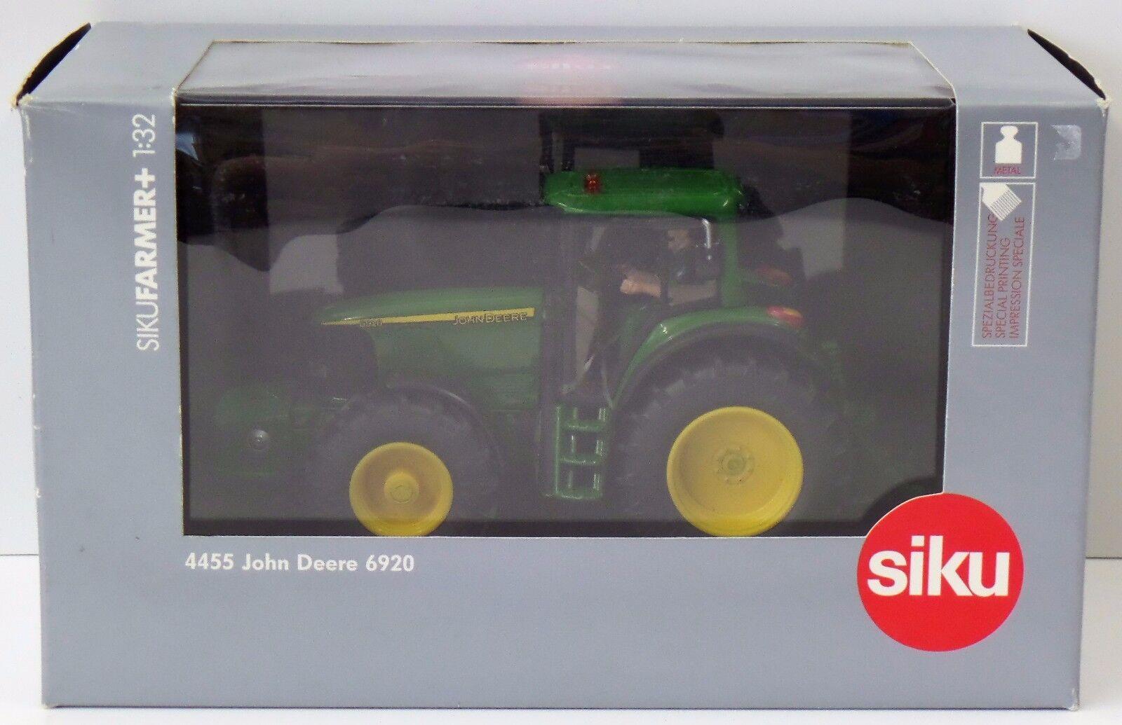 Siku Farmer + 1 32 - 4455 John Deere 6920-SCATOLA ORIGINALE NUOVO NEW