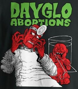 Dayglo-Abortions-Baby-Doctor-shirt-New-S-M-L-XL-Black-Punk