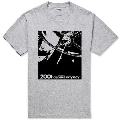 2001 SPACE ODYSSEY BW stanley kubrick movie t-shirt