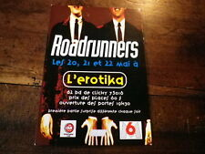 ROADRUNNERS - Carte postale promo / Promo Postcard !!! !!!