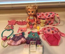 """Baby Alive Hasbro 2013 """"My Baby All Gone"""" with accessories"""
