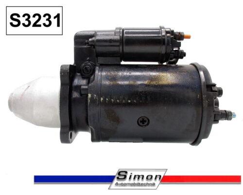 Starter Anlasser für Lucas Magneti Marelli JCB Cummins 27564 27595 Neuteil S3231
