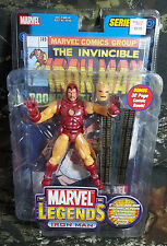 NIB Marvel Legends Iron Man Figures Series 1 Comics Book  B12
