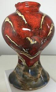 Fab-Anita-Harris-Black-Ryden-Collectors-Club-Vase-2002-perfect