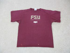 VINTAGE-Nike-Florida-State-Seminoles-Shirt-Adult-Medium-Red-Gold-FSU-Men-90s-A9