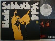 PROMO LABEL / BLACK SABBATH VOL 4 / JPN VERTIGO ORIGINAL